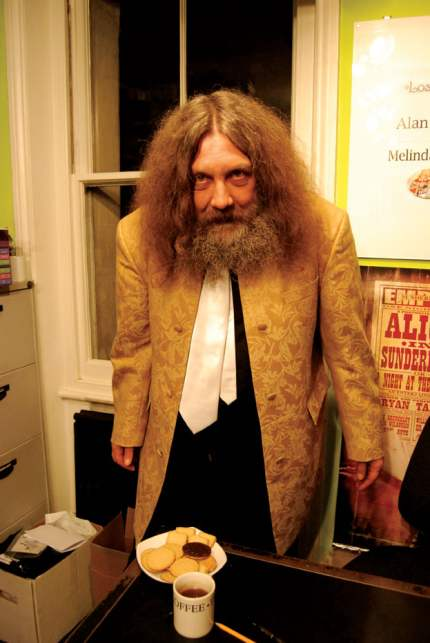 2008 photo of Alan Moore