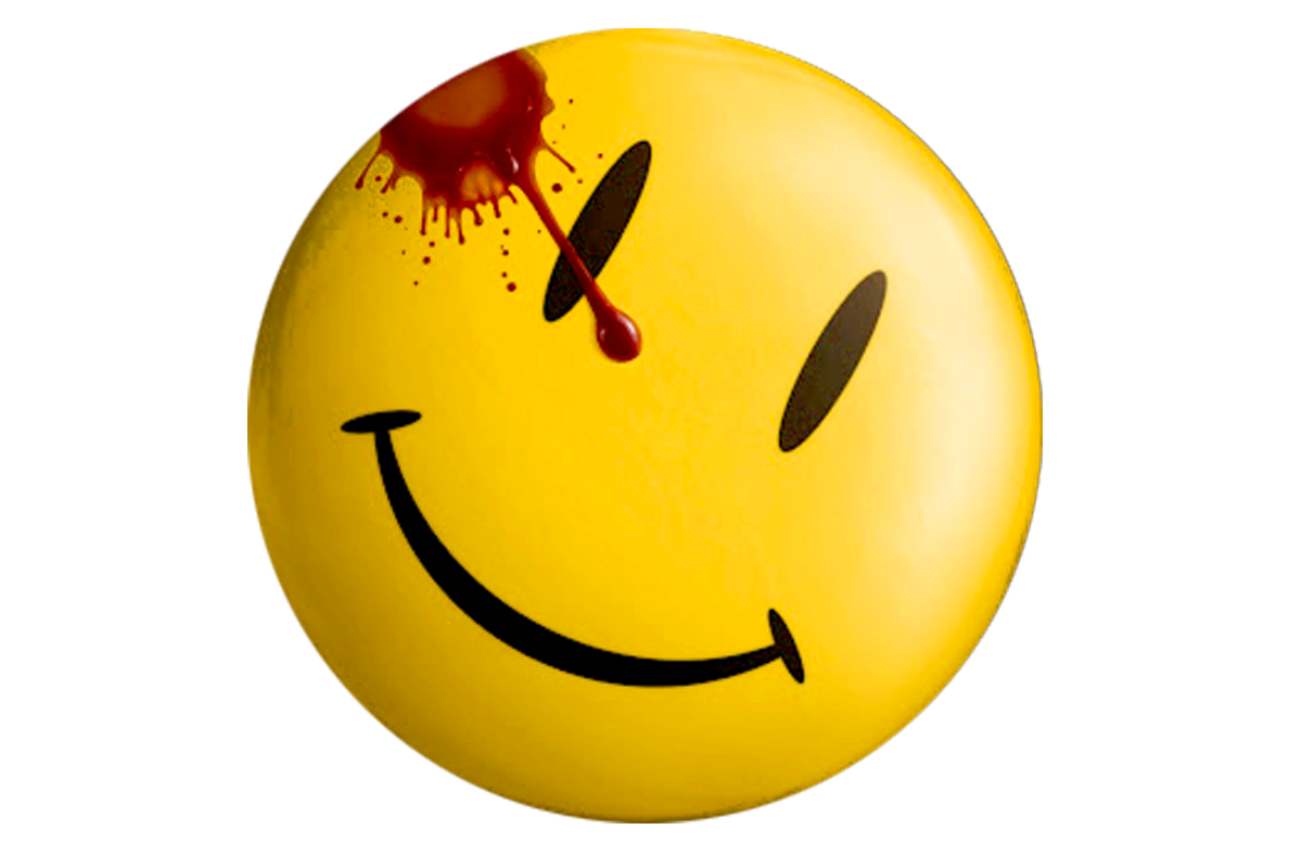 thematic image of my Watchmen trailer blog