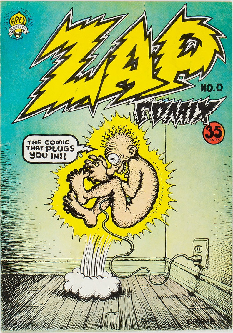 cover of Zap Comix #1